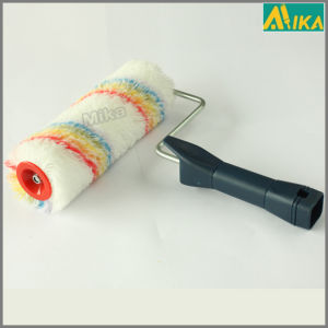 11mm Rainbow Acrylic Paint Roller with Plastic Handle