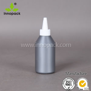 250ml LDPE Grey Cheap Small Glue Plastic Squeeze Bottle with Nozzle pictures & photos