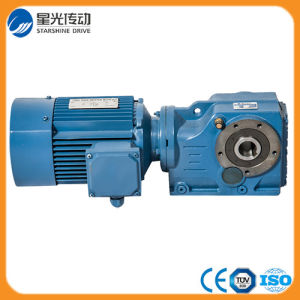 Cast Iron Speed Reducer Bevel Helical Gearbox pictures & photos
