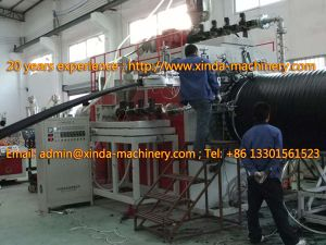 PE Spiral Pipe Production Line pictures & photos