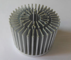 1070 Aluminum Cold Forged LED Heat Sink pictures & photos
