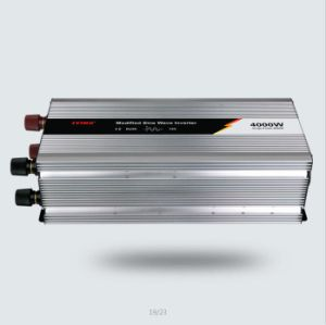 4000W 12V/24V/48V DC AC 110V/220V Modified Sine Wave Power Inverter pictures & photos