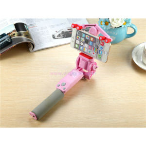 Electric Rotary Bluetooth Shutter Button Cellphone Selfie Stick Handheld Monpod pictures & photos
