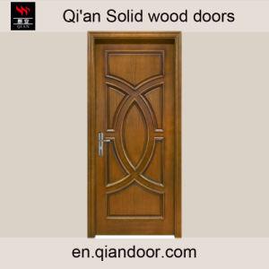 Elegant Teak Solid Wood Veneered Door pictures & photos