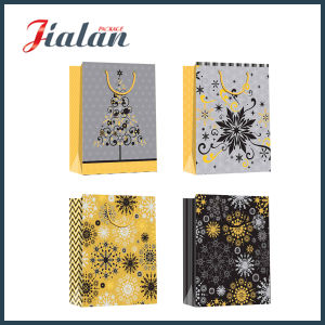Two Sides Full Printing Logo Design Printed Paper Packing Bags pictures & photos