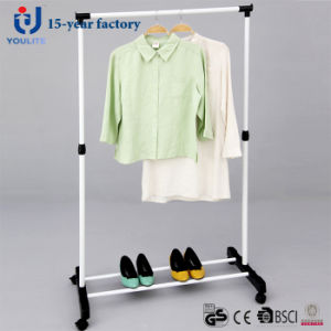 Powder Coated Steel Single Rod Clothes Hanger pictures & photos