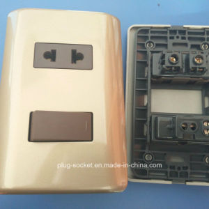 6A 250V /10A 127V 1gang 1way/2 Way Socket and Switch (W-097) pictures & photos