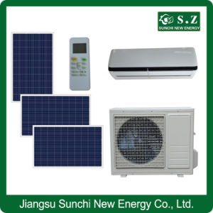 80% Solar Acdc Hybrid Quiet Affordable Split Air Conditioning System pictures & photos