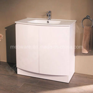 Floor Mounted Bathroom Basin Sink Vanity Furniture Storage Cabinet Unit pictures & photos