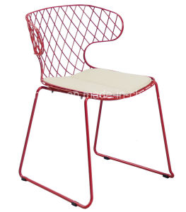 694-H45-St Bertoia Wire Mesh Chair