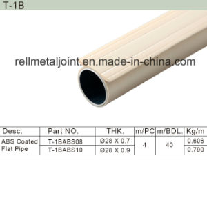 ABS Coated Flat Pipe / Lean Pipe (T-1B) pictures & photos