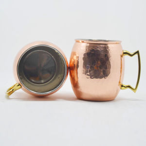 Solid Copper Hammered Mule Mug pictures & photos