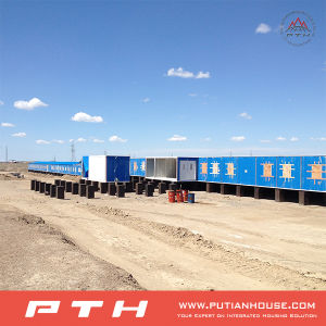 Quick Built and Affordable 20feet Container House for Labor/Army/Mining Camp pictures & photos