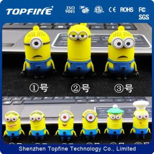 Free Sample Wholesale Minions 8GB USB 2.0 Flash Drive pictures & photos