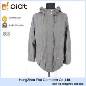 2016 New Fashion Custom Hoody Casual Ladies Jacket