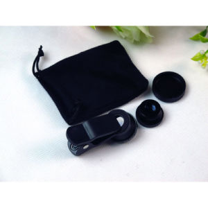 Super Wide Angle Optical Lens Kit with Hook for Phone pictures & photos