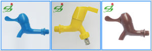 Plastic PVC/PP Bibcock Tap with High Quality pictures & photos