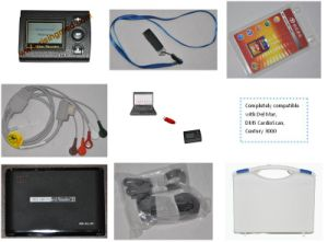 Ce Approved 3-Channel 12-Lead LCD Mini Holter (ECGLAB CV-3L) -Fanny pictures & photos