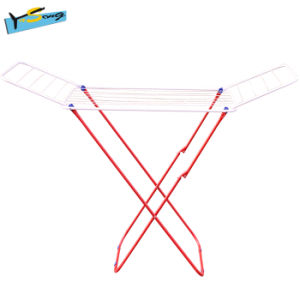 Foldable Garment Hanger Clothes Drying Rack