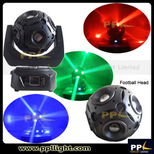 12X15W LED Moving Head Beam with Infinited Rotating Football Head pictures & photos