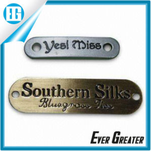 Wholesale Custom Aluminum Sticker Label with Logo Printing Design pictures & photos
