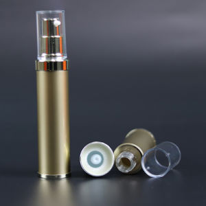 Aluminum Airless Bottle with Transparent Cover (NAB26) pictures & photos