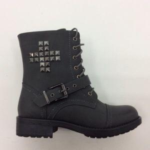 New Comfort Medium Heels Ladies Leather Ankle Boots (S 38-5)