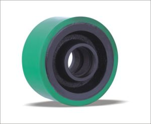Solid Wheels Plain Bearing PU Wheels in Machinery