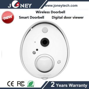New 720p IP Wireless WiFi Doorbell Camera (PIR SD Card) pictures & photos