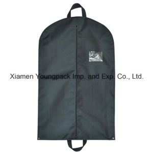 Custom Black Non Woven Polypropylene Travel Suit Cover pictures & photos