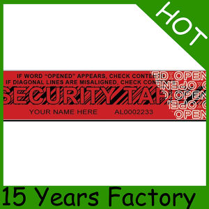 High Quality Tamper Void Security Tape pictures & photos