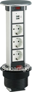 IP54 Rated Recessed in Counter Power Port Column pictures & photos