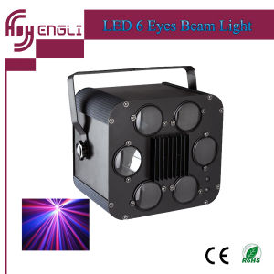 LED 6 Eyes Beam Disco Lighting for DJ Stage (HL-058) pictures & photos