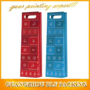 Wine Paper Packaging Gift Bags Custom (BLF-PB033) pictures & photos