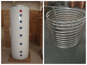 En12976 Split Pressure Water Tank with Stainless Steel Coil pictures & photos
