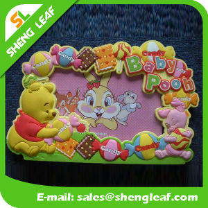 Colorful Soft Rubber Silicone Photo Frame (SLF-PF072) pictures & photos