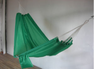 Factory Supply Polyester Single Color Portable Parachute Hammock
