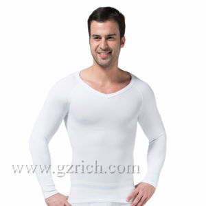 Mens Body Shaper Long Sleeve Undershirt pictures & photos