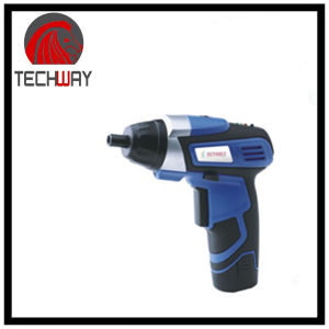 3.6V Cordless Screwdriver with LED Light pictures & photos