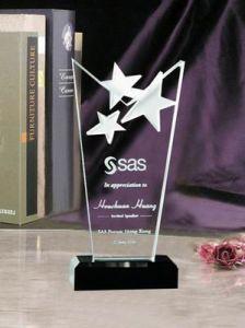Highend K9 Crystal Award with Laser Custom Logo pictures & photos