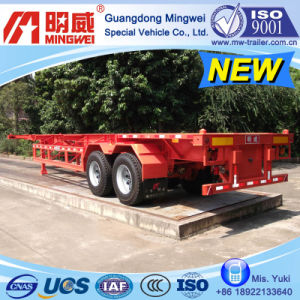 CCC/ ISO/ 20 Ft 2-Axles Container Transport Semi Trailer