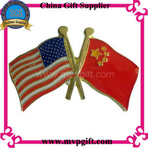 Customized Metal Flag Badge for Gift pictures & photos