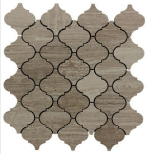 Wood Grey Arabesque Marble Tile pictures & photos