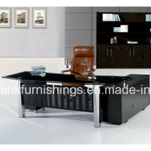 Director Glass Top Office Table