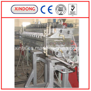 PVC/WPC Plastic Window Profile Extruder Machine Production Extrusion Line pictures & photos