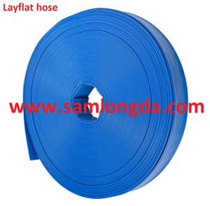 """1""""-16"""" PVC Layflat Water Discharge Hose for Irrigation and Water Pumps pictures & photos"""