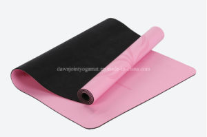 4mm Extra Thick PU Yoga Mat Wih Antimicrobial Closed Cell Technology pictures & photos