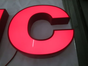 Store Outdoor Indoor Acrylic Illuminated Letters Sign LED Signs Stainless Steel Sign pictures & photos