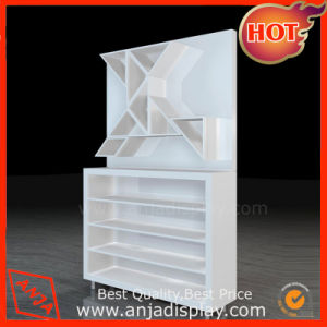 MDF Shoe Display Rack Shoe Display Shelf pictures & photos