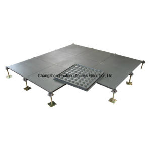 500*500*28 Bare Steel Raised Floor pictures & photos